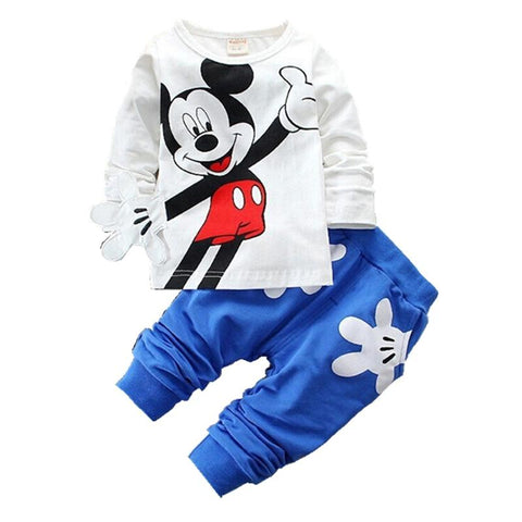 2pcs toddler baby tops Minnie Mouse tracksuit - bump, baby and beyond