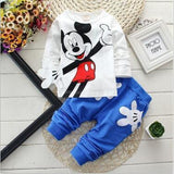 2pcs Toddler Baby Boy Girl Outfit Tops Minnie Mouse Tracksuit Clothes - bump, baby and beyond