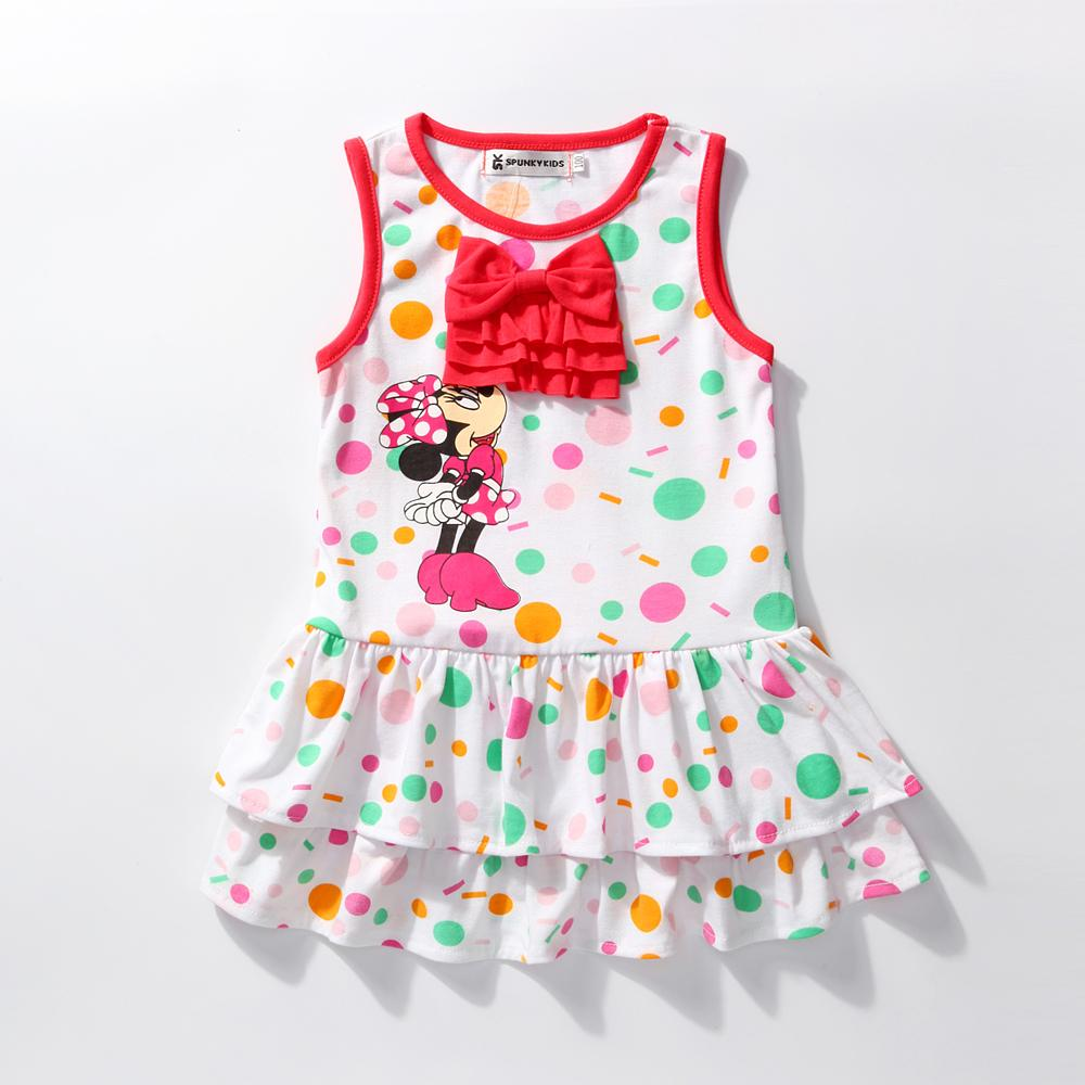 Summer Baby Girl Minnie Princess Dress - bump, baby and beyond
