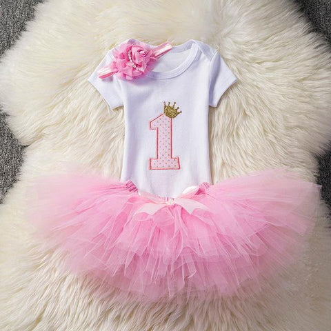 Lovely girls romper skirt + headband outfit clothes - bump, baby and beyond