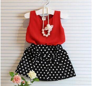 Summer Chiffon Vest Skirt Two Picocell Toddler Girl Clothing - bump, baby and beyond