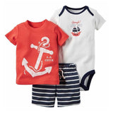 summer baby boy girl t shirt + short + romper clothes - bump, baby and beyond
