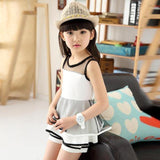 New Fashion Children's Clothing Net Veil T-Shirts Pants - bump, baby and beyond