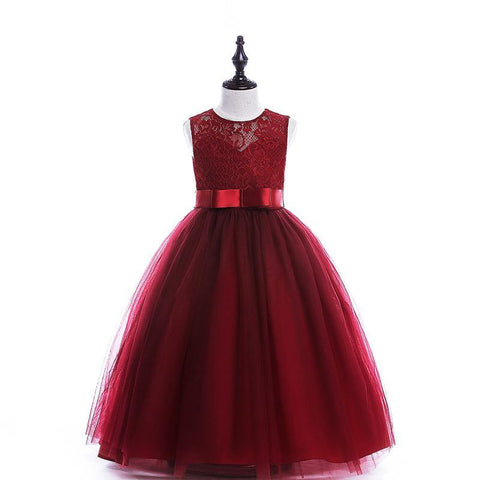 Stylish teenagers girls wedding dresses party clothes, baby and ...