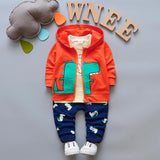 kid baby boys tracksuit coat + tops + pants clothes - bump, baby and beyond