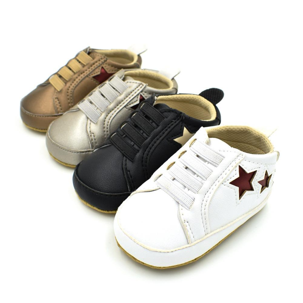 Infant Unisex Star Soft Anti-Slip Shoes - bump, baby and beyond