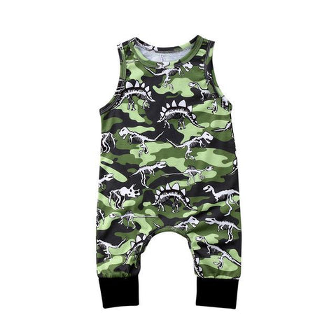 baby boys romper sleeveless jumpsuit - bump, baby and beyond