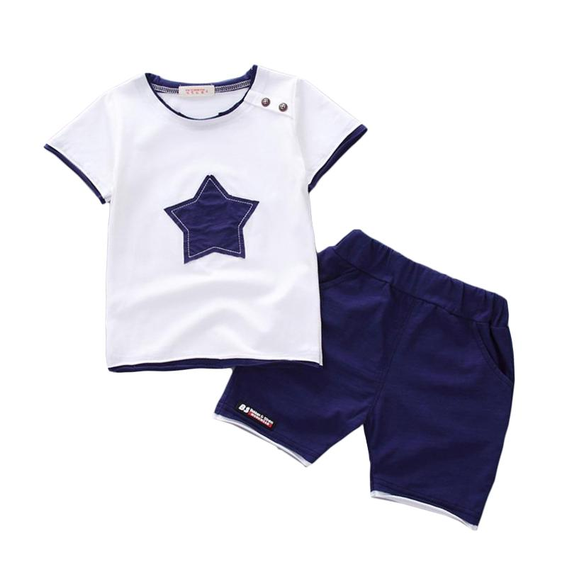Casual Boys Summer Star Style Cotton Clothes - bump, baby and beyond