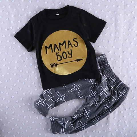 mama boy t shirt + pants clothes - bump, baby and beyond