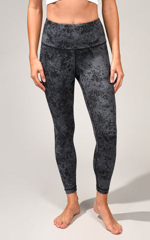 Lux Quartz Print High Rise Basic 7/8 Ankle Legging