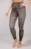 """LUX"" SUPER HIGH WAIST ELASTIC FREE ANIMAL PRINT 7/8 ANKLE LEGGING"