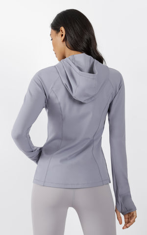 Yogalicious Zip Hooded Jacket
