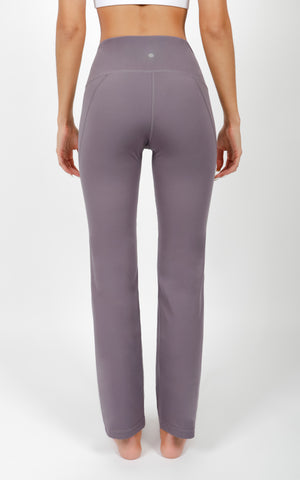 """Lux"" High Waist Straight Leg Pant"
