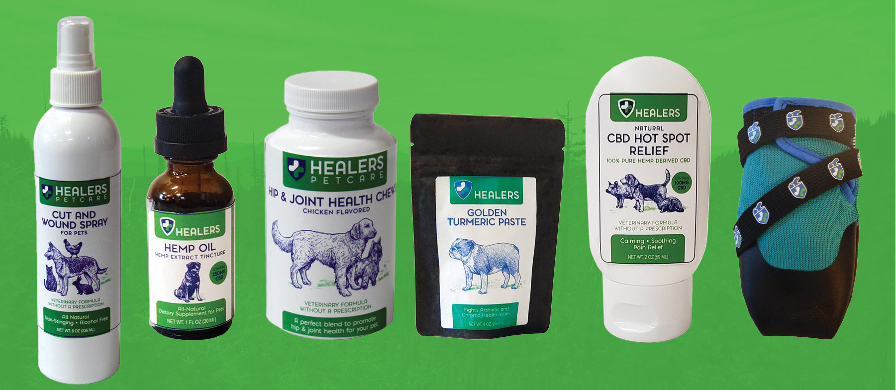 Healers PetCare Announces New Partnership, Pet Health Products