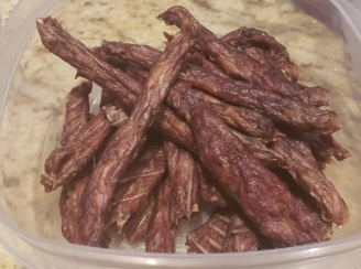 Recipe: Homemade Hamburger and Chicken Jerky Dog Treats