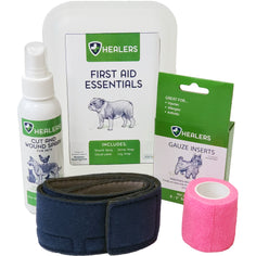 Image of the Healer's Pet Care First Aid Essentials Kit.