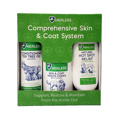 Healers Comprehensive Skin & Coat System