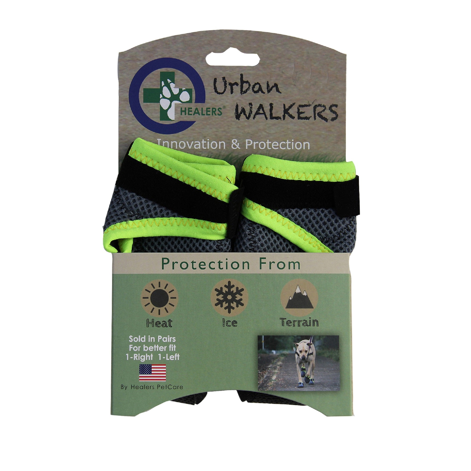 Urban Walkers Dog Booties (SOLD IN PAIRS) CLEARANCE BUY NOW WHILE SUPPLIES LAST