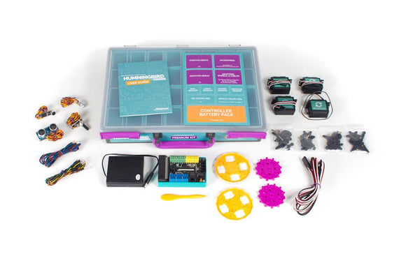 HUMMINGBIRD BIT PREMIUM KIT (with micro:bit and USB Cable) - CLASSROOM eShop