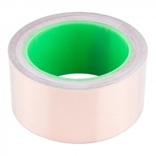 Copper Tape With Conductive Adhesive, 50mm (15m) - CLASSROOM eShop