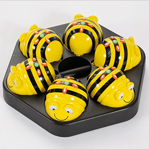 Bee-bot Class Bundle, bundle of 6 rechargeable Beebots and a Docking Station - CLASSROOM eShop