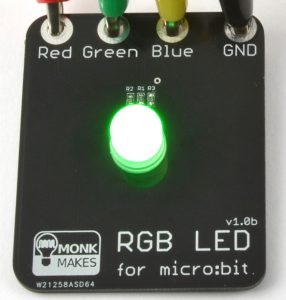 MonkMakes RGB LED for micro:bit - CLASSROOM eShop