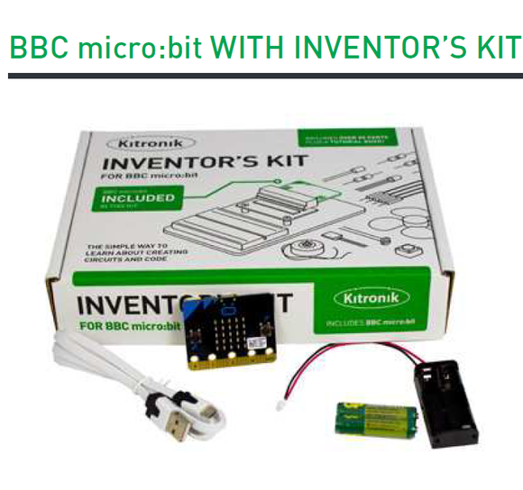 Kitronik Inventor Kit with micro:bit board