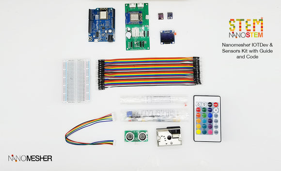 Arduino IOT Dev and Sensors Kit - Nanomesher - CLASSROOM eShop