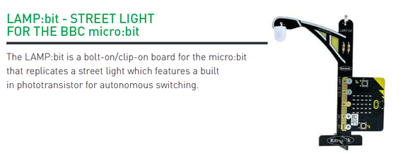 Lamp Bit with micro:bit board