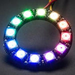Adafruit NeoPixel Ring - RGB LED w/ Integrated Drivers - 12 Pixels