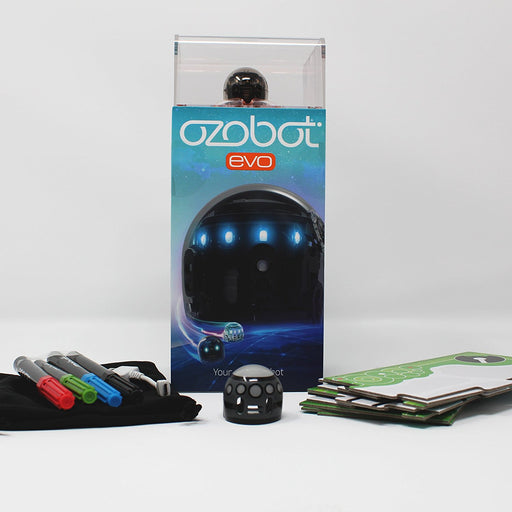 Ozobot Evo App Connected Robot (Black) - CLASSROOM eShop