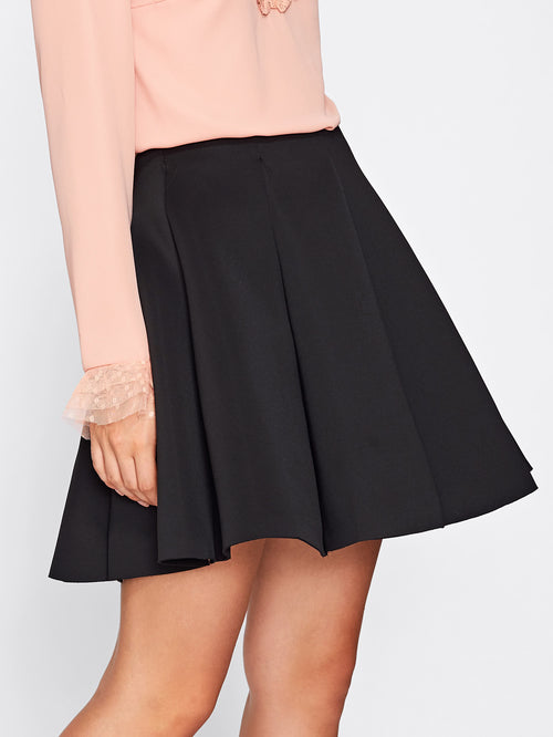 Box Pleated Skirt