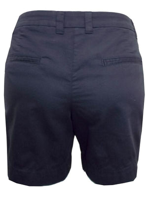 BLACK Pure Cotton Chino Shorts