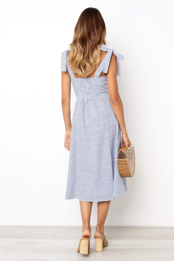 Nicole Dress - Blue