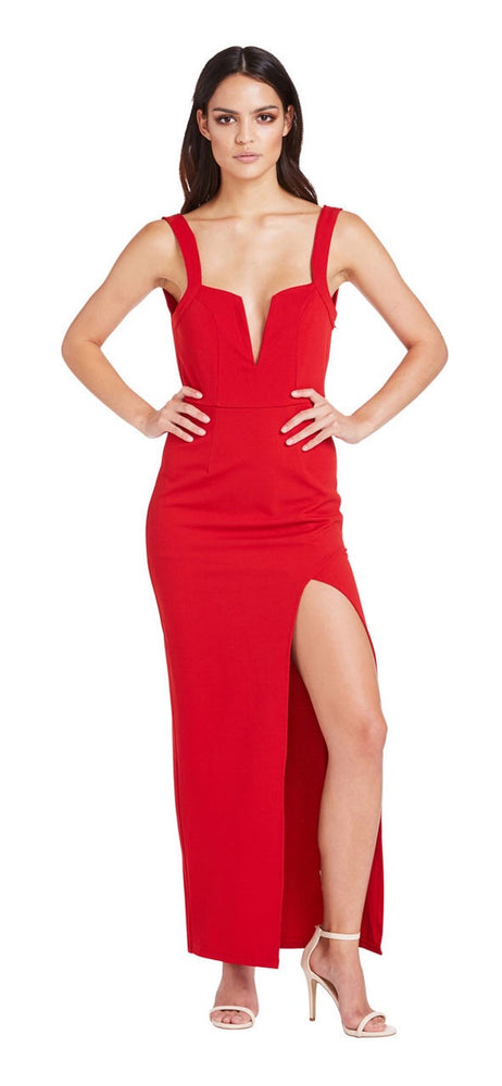 New Flame Dress (Red)