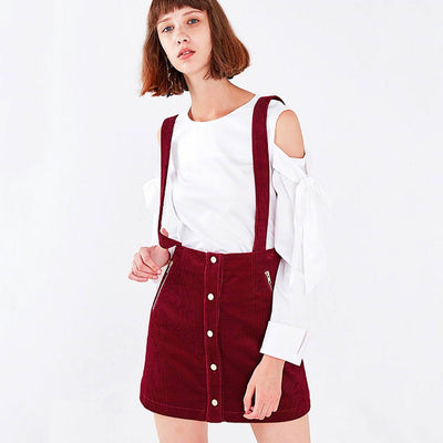 Regular Waist Pockets Retro Plain Dress
