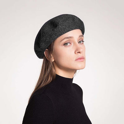 Chic Plain French Beret Hat
