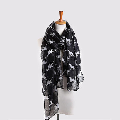 Cool Animal Print Scarf