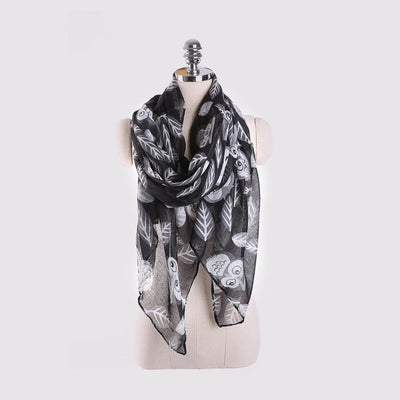 Girly Animal Print Scarf