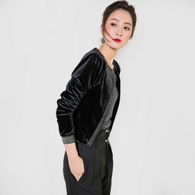 Long Sleeve Collarless Elegant Plain Jacket