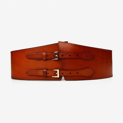 Buckle Sexy Plain Ladies Leather Belt