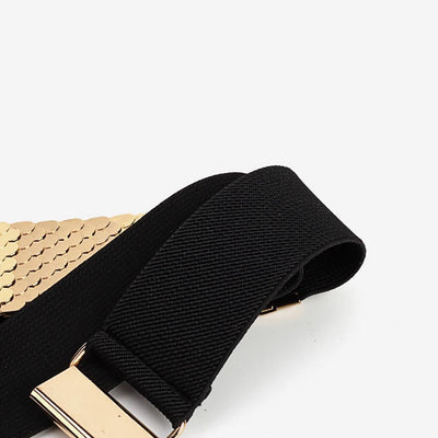 Party Plain Metal Belt