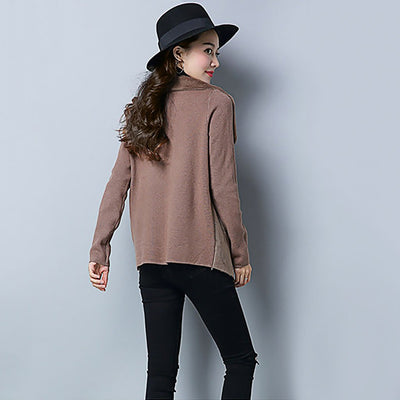 Long Sleeve Pockets On-Trend Plain Shearling Jacket