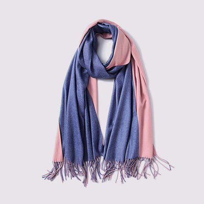 On-Trend Color Block Scarf