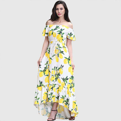 Long Sleeve Belted Feminine Floral Print Dress