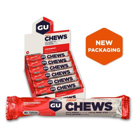 GU Energy Chews - 18 packets