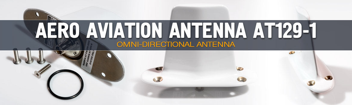 Aero Antenna Omni-Directional Aviation Antenna AT129-1 - Apollo Satellite