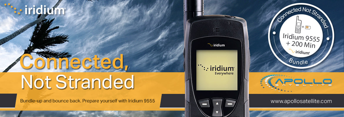 Iridium 9555 Disaster Preparedness Bundle