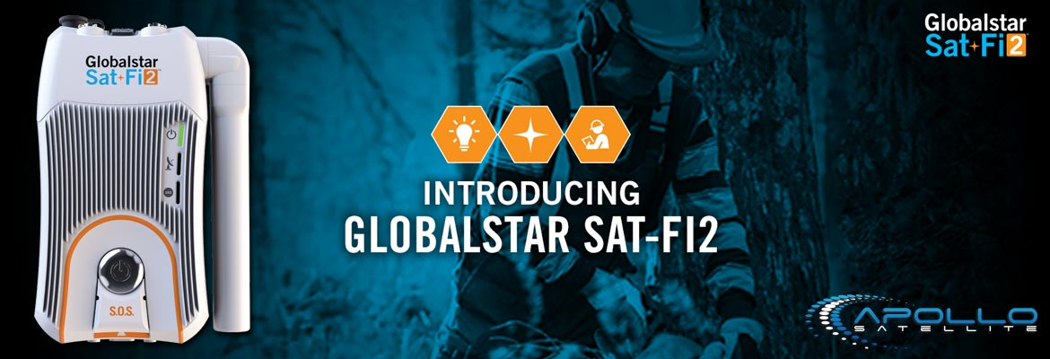 View the Globalstar Sat-Fi2 Satellite Hotspot in our Shop