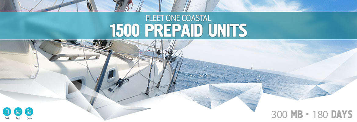 Inmarsat Fleet One Coastal Prepaid 1500 Units